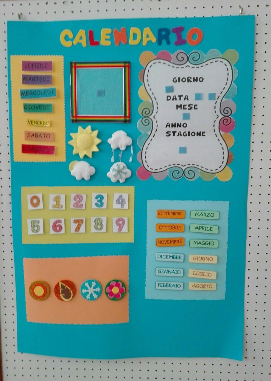 Calendario Del Tempo Scuola Infanzia.Progetto Accoglienza Scuola Infanzia Villa Stanza