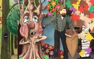 Spettacolo Teatrale 2019 - Il piccolo uomo che aiutava gli alberi